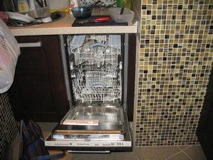 Подключение посудомойки