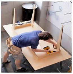 Сборка столов по низким ценам в Липецке от специалистов