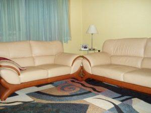 Перетяжка кожаной мебели в Липецке
